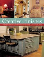 Creative Finishes