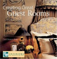 Creating Great Guest Rooms