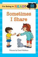 Sometimes I Share