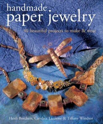 Handmade Paper Jewelry book cover