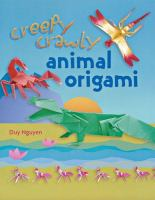 Creepy Crawly Animal Origami
