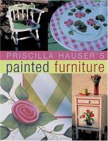 Priscilla Hauser's Painted Furniture