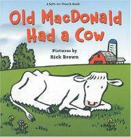 Old MacDonald Had A Cow