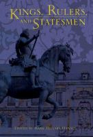 Kings, Rulers, and Statesmen