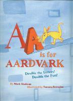 AA Is for Aardvark