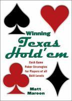 Winning Texas Hold'em