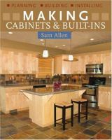Making Cabinets & Built-ins