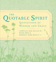 The Quotable Spirit