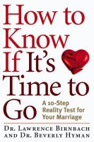 How to Know If It's Time to Go