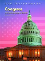 Congress and the Legislative Branch