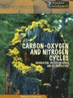 Carbon-oxygen and Nitrogen Cycles