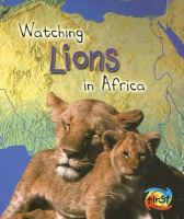 Watching Lions in Africa
