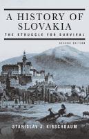 A History of Slovakia