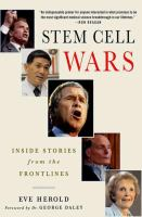 Stem Cell Wars