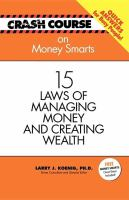 15 Laws of Managing Money and Creating Wealth