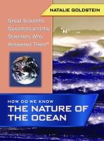 How Do We Know the Nature of the Ocean?