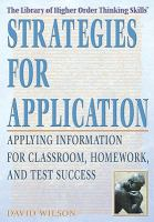 Strategies for Application