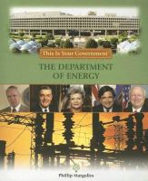 The Department of Energy