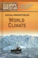 Critical Perspectives on World Climate