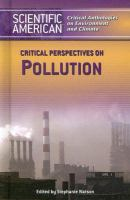 Critical Perspectives on Pollution