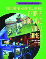 Cool Careers Without College for People Who Love Video Games