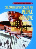 Cool Careers Without College for People Who Love Manga, Comics, and Animation