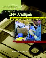 Careers in DNA Analysis