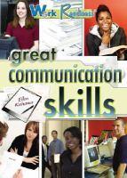 Great Communication Skills