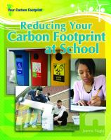 Reducing your Carbon Footprint at School