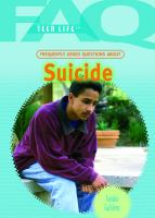 Frequently Asked Questions About Suicide