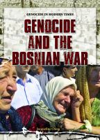 Genocide and the Bosnian War