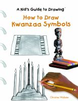 How to Draw Kwanzaa Symbols