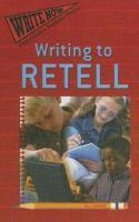 Writing to Retell