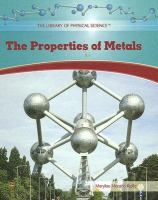 The Properties of Metals