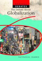 The Debate About Globalization