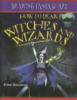 How To Draw Witches And Wizards
