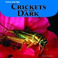 Crickets in the Dark