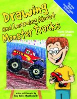 Drawing and Learning About Monster Trucks