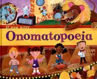 If You Were Onomatopoeia