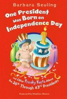 One President Was Born on Independence Day