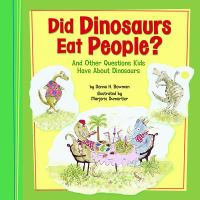Did Dinosaurs Eat People?