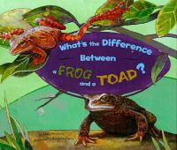 What's the Difference Between A Frog and A Toad?