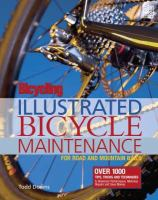 Illustrated Bicycle Maintenance for Road and Mountain Bikes