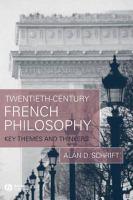 Twentieth-century French Philosophy