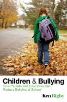 Children And Bullying