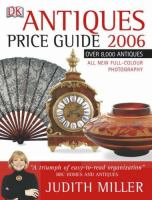 Antiques Price Guide