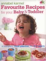 Favourite Recipes for your Baby & Toddler
