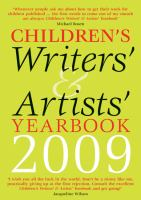 Children's Writers' & Artists' Yearbook 2009