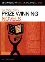 100 Must-read Prize Winning Novels