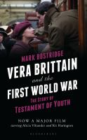 Vera Brittain and the First World War